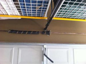 Broken Garage Door Spring - Before