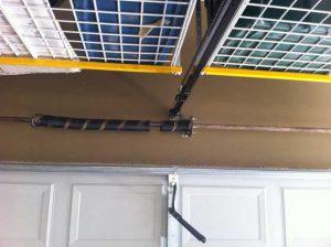 Broken Garage Door Spring - Before