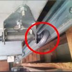 Damaged Metal Roller