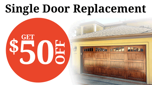 Single Door Replacement