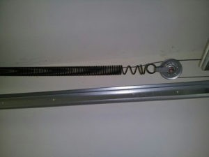 Stretched Extension Spring