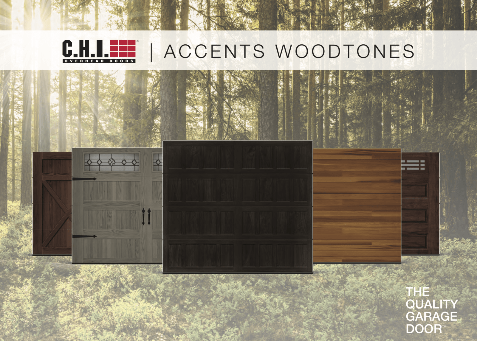 Accent Woodtones Family