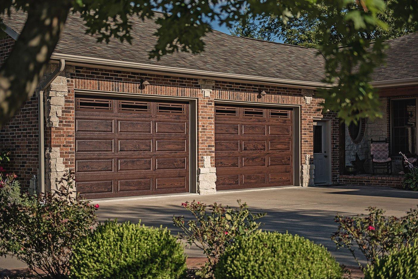 Accent Woodtones Garage Doors