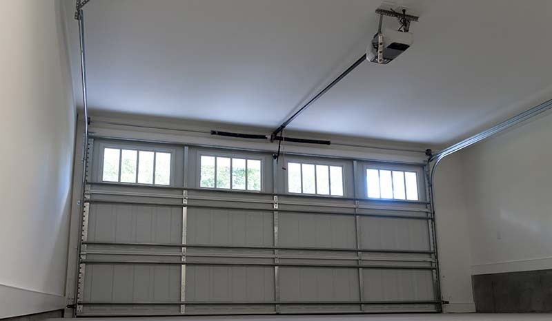 Interior of a Residential Two-Car Garage