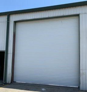 New Rollup Garage Door
