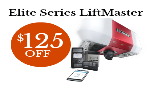 $125 Off Elite Series LiftMaster Garage Door Opener