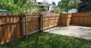 Wood Slide Gate