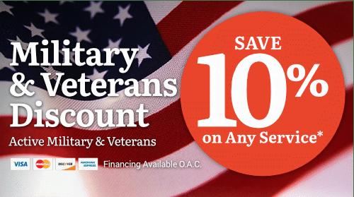 Military & Veteran's Discount