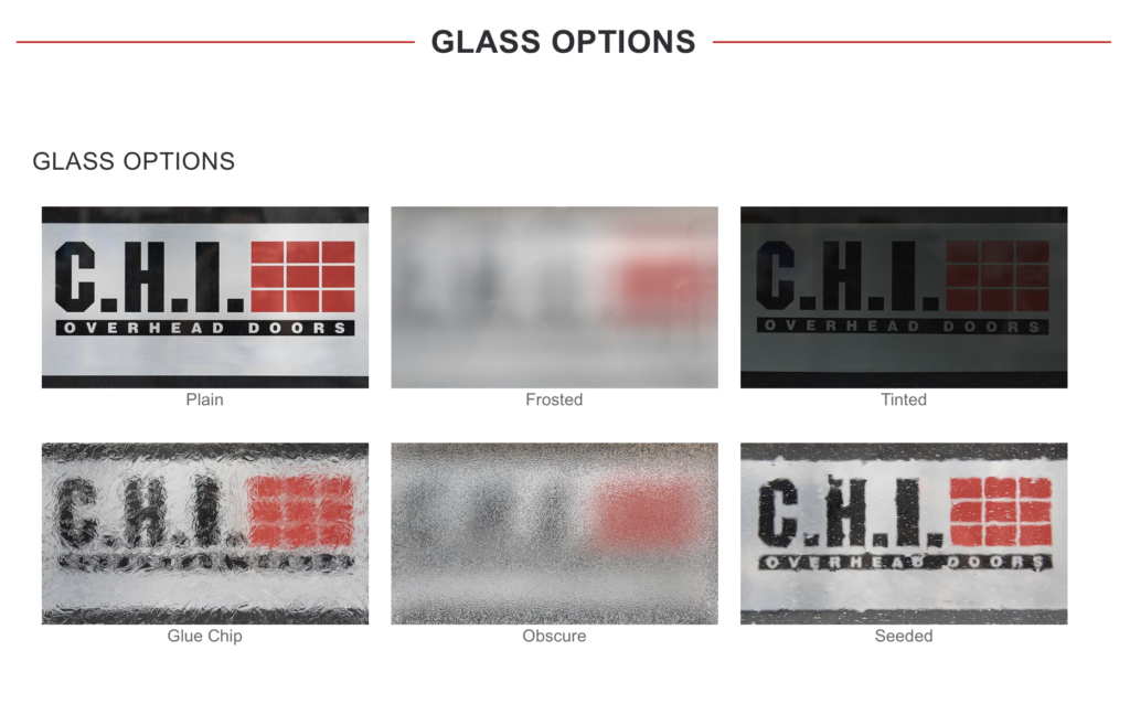 C.H.I. Glass Options