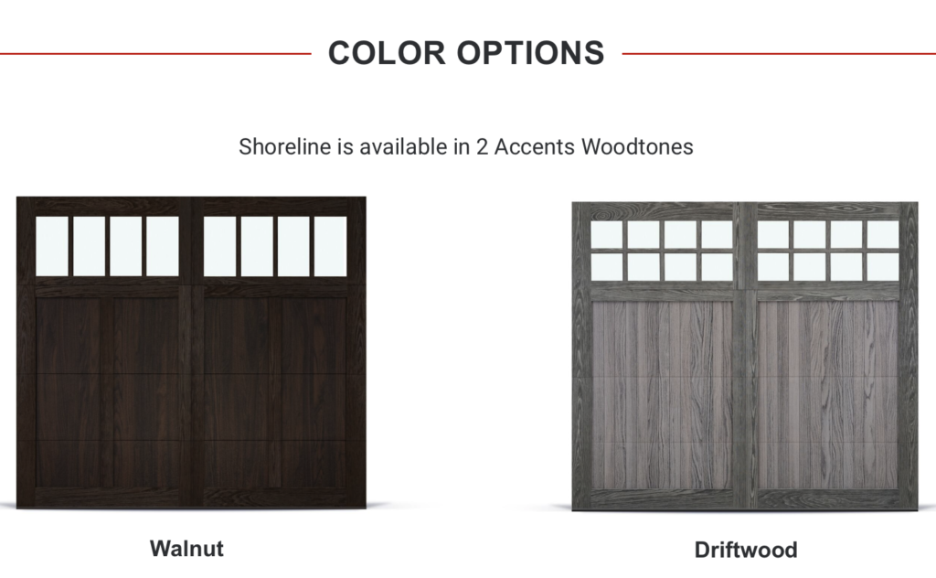 Shoreline - Color Options