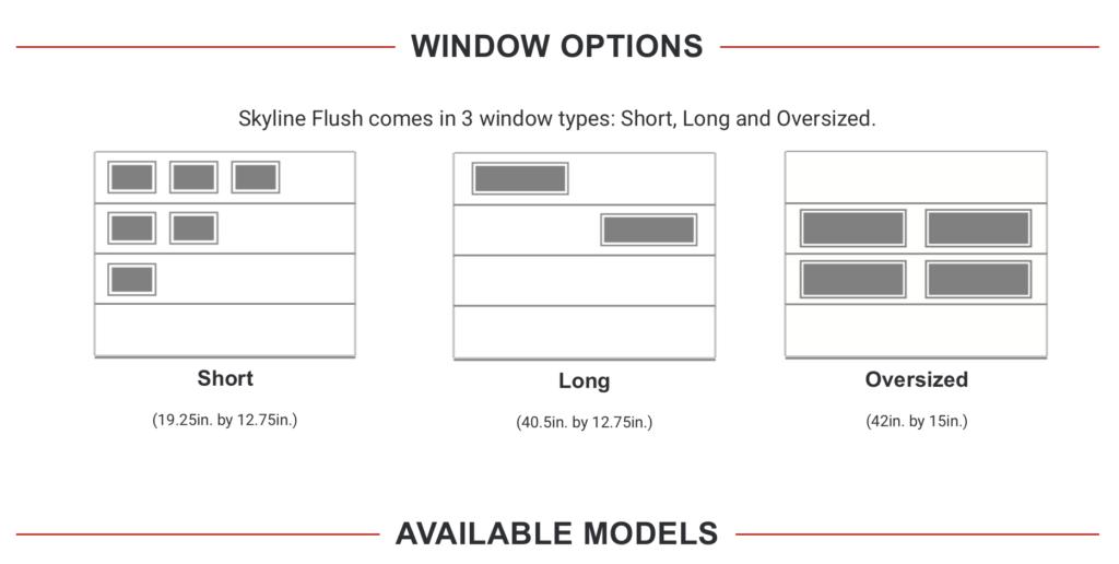 Skyline Flush Window Options