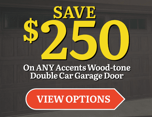 $250 Off Accents Woodtone Door